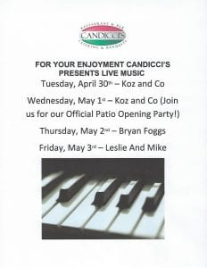 Candicci's Restaurant and Bar - Live Music