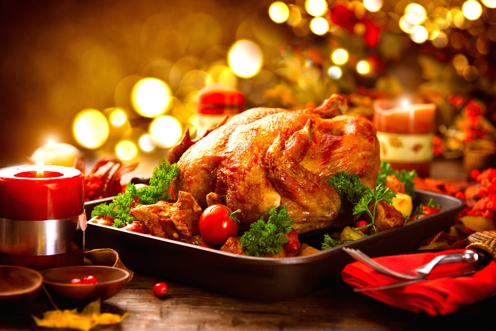 Thanksgiving Buffet at Candiccis